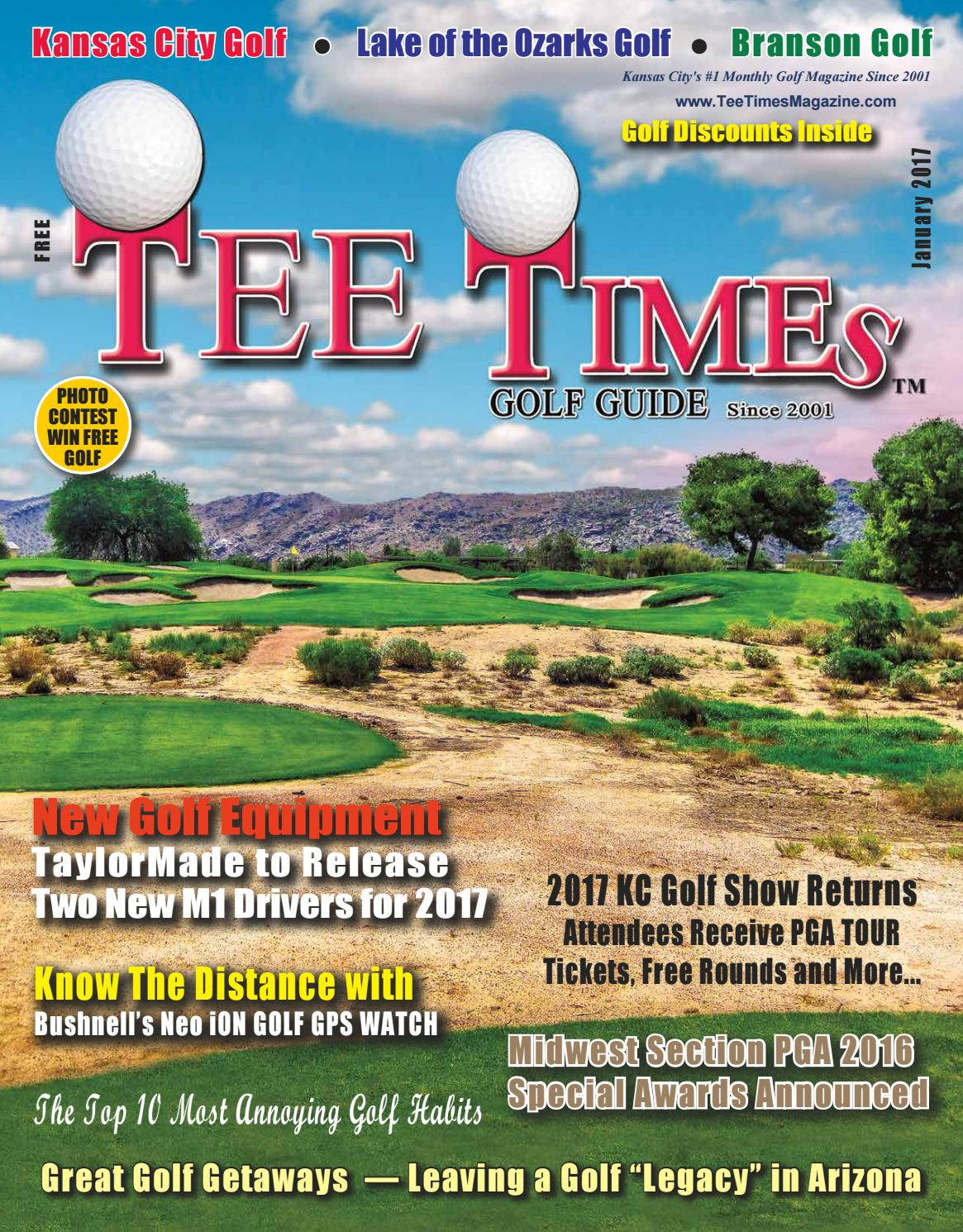 tee times golf guide magazine january 2017 issue by tee times golf
