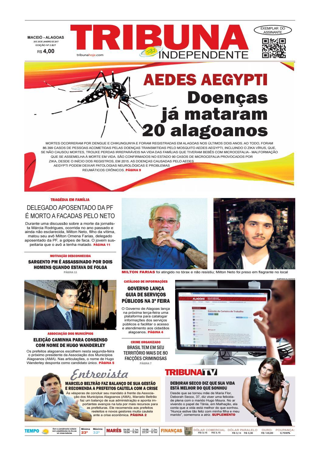 5d348fde2e3 Edição número 2827 - 28 e 29 de janeiro de 2017 by Tribuna Hoje - issuu