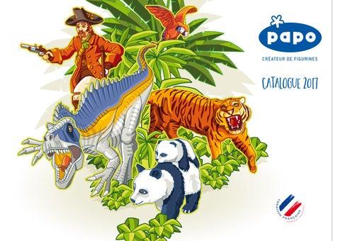 Papo 50170 Marabu 9 cm Animaux Sauvages