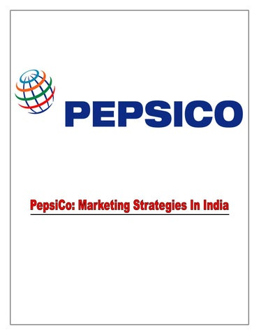 Indian Market For Pepsi Co by Smith Baker - issuu