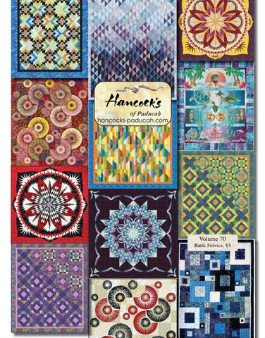 Hancocks Of Paducah Volume 70 Batik Fabrics Quilts By Hancocks Of