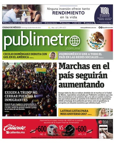 20170129 mx publimetro by Publimetro Mexico - issuu 6453b840fc91f