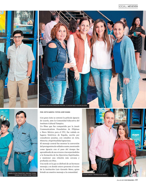 Imagenes De Silvia Olvera chic magazine tamaulipas, núm. 439, 29/ene/2017chic