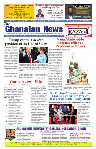 Ghanaian news january 2017 final final reduced by Roots Change - issuu