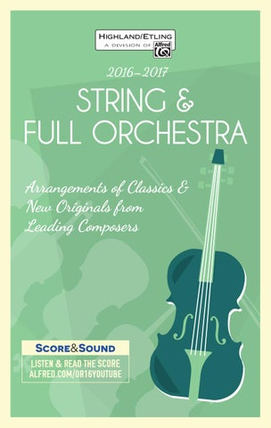 2017 String Full Orchestra Catalogue By Devirra Music Issuu