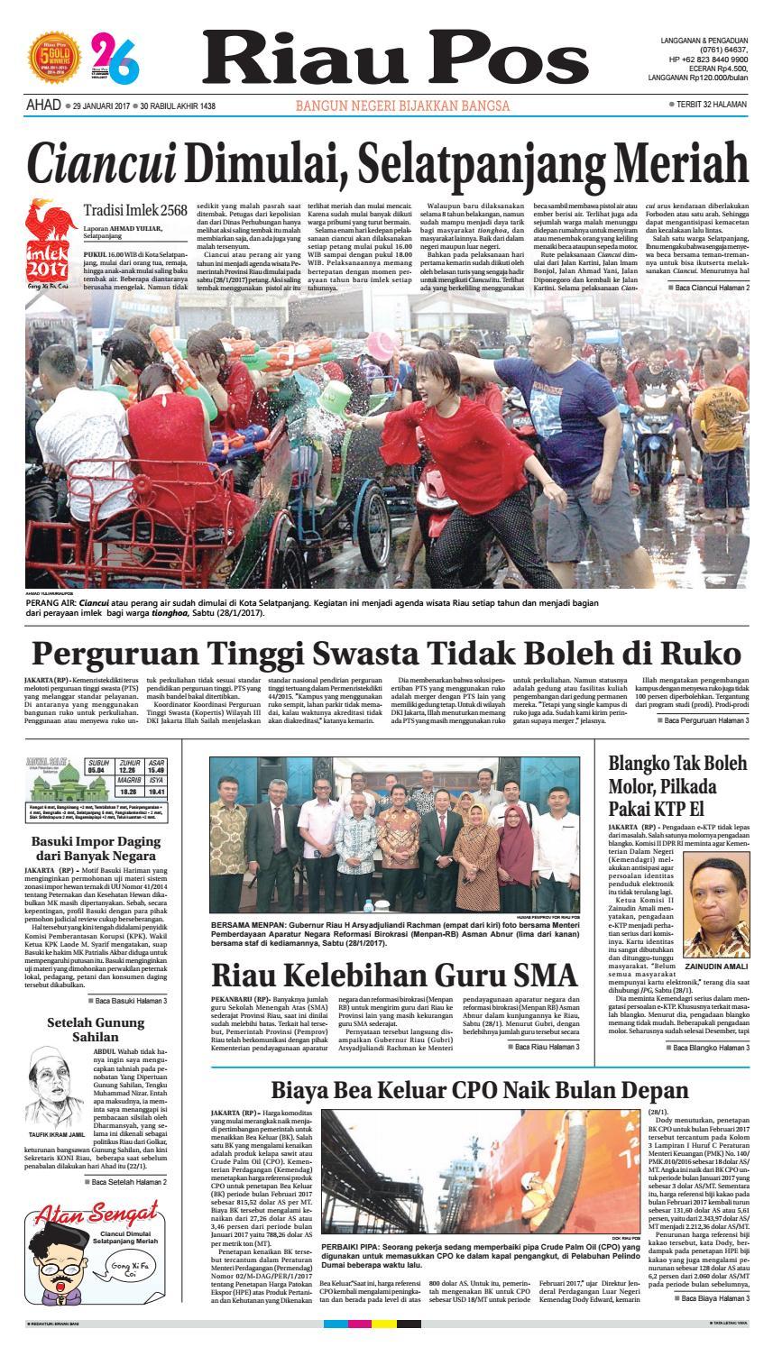 217 01 29 By Riau Pos Issuu Kebab Pisang Coklat Champlo Sf
