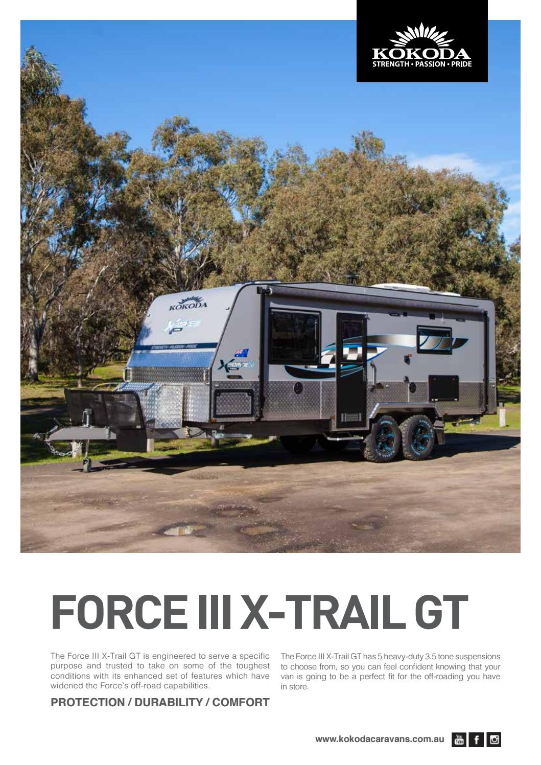Force Iii Xtrail Gt Brochure G By Jo Comensoli Issuu Perfect Fit