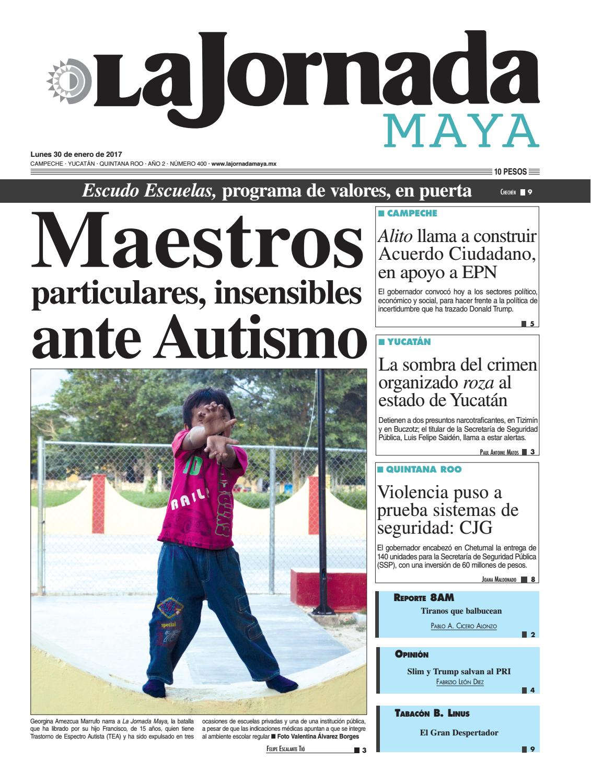 La Jornada Maya · Lunes 30 de enero, 2017 by La Jornada Maya - issuu