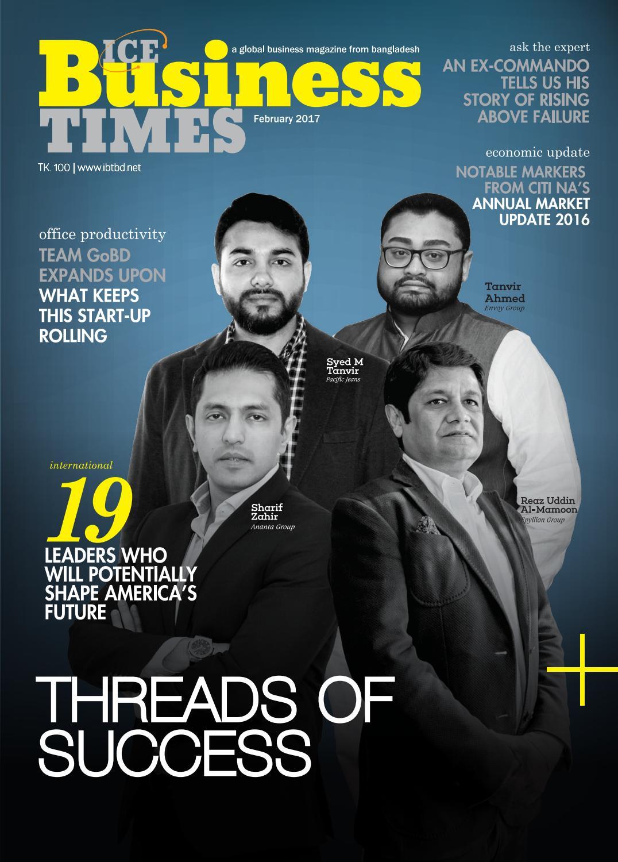 Ice Business Times February 2017 By Ice Media Ltd Issuu