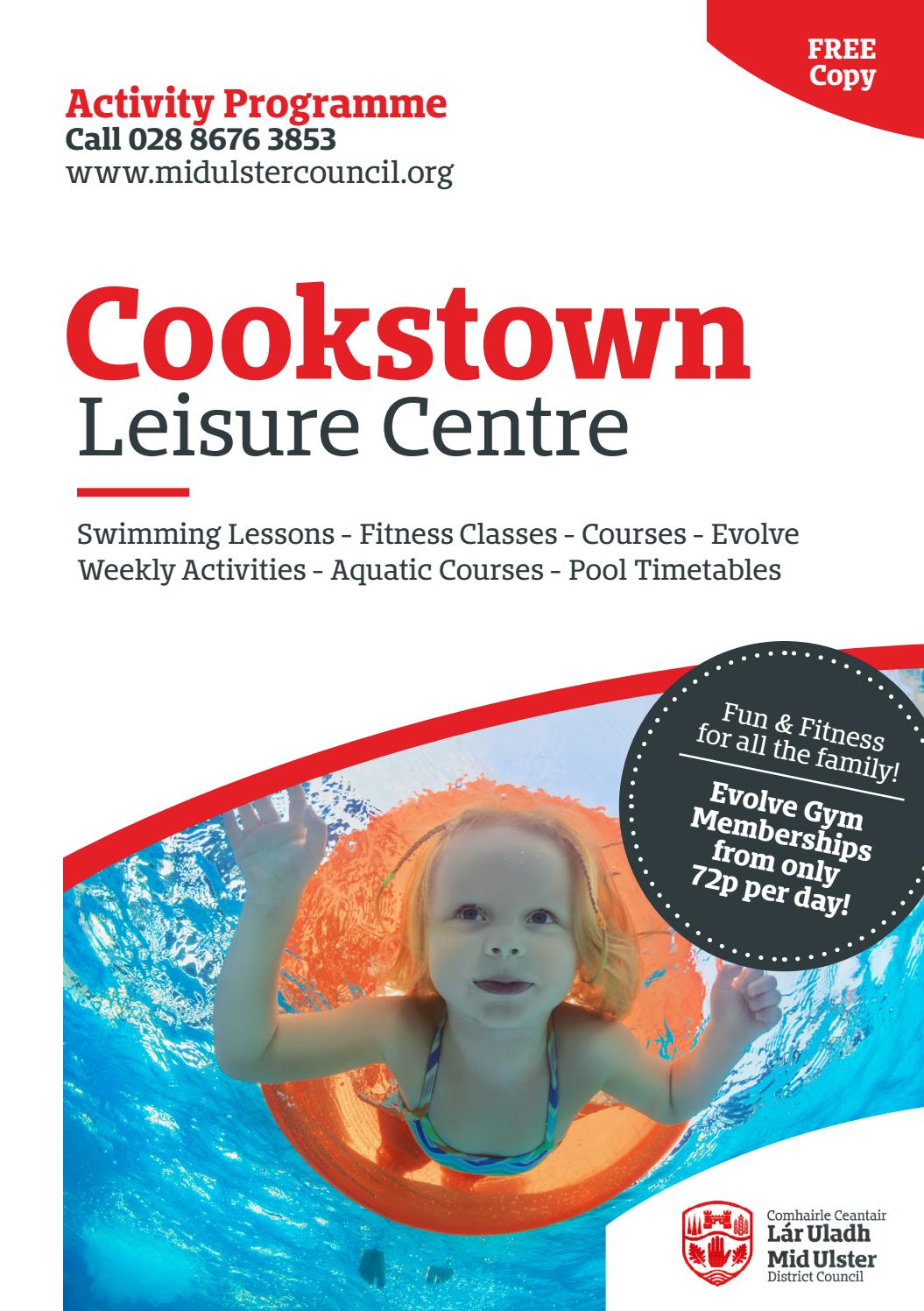 Cookstown Leisure Centre Information By Midulstercouncil Issuu