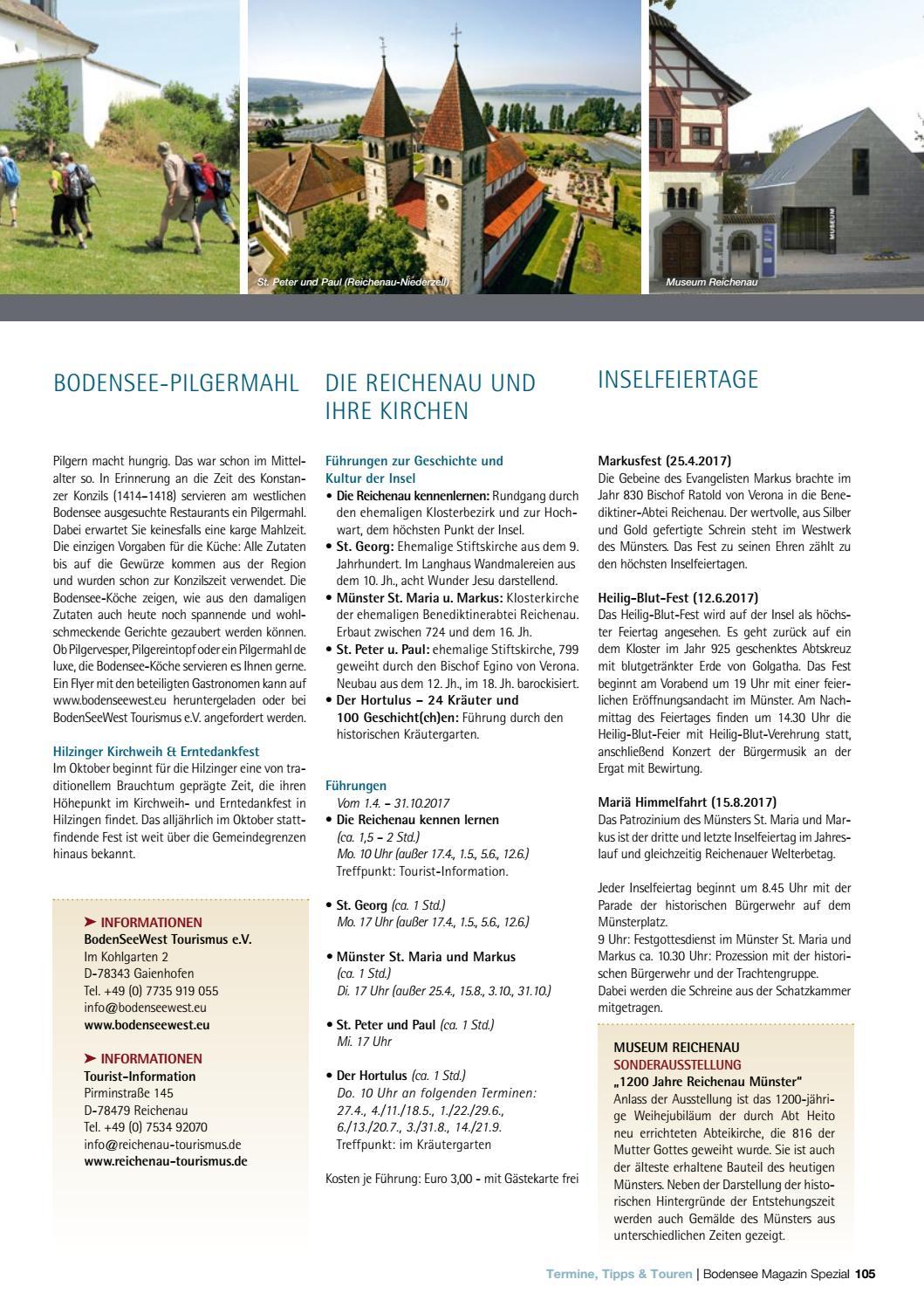 Bodensee Magazin Spezial Kirchen Kloster Und Konzil 2017 By Labhard Medien Issuu