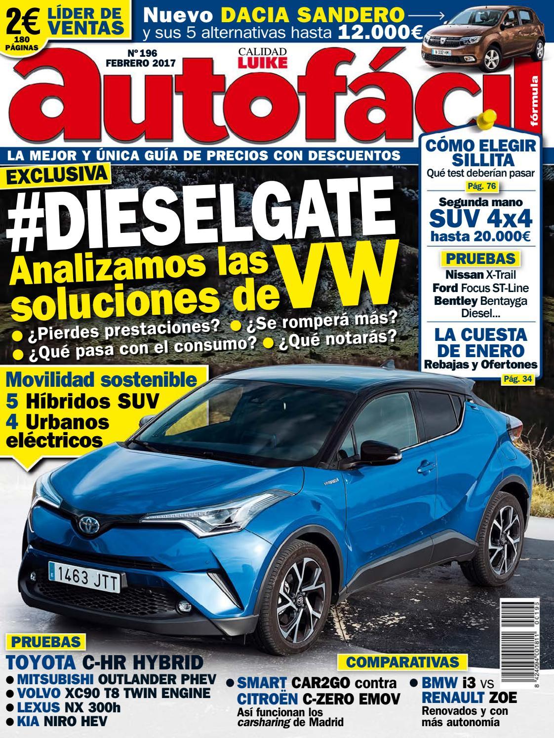 Autofácil Nº 196. Febrero 2017 by LIDER - issuu 5d814d409a1f