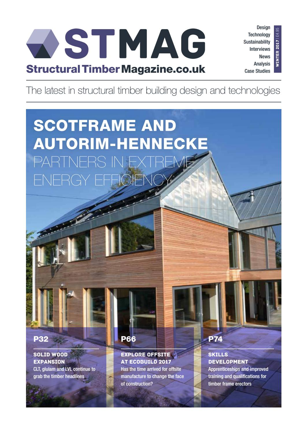 Structural timber magazine winter issue 2017 by radar communications issuu