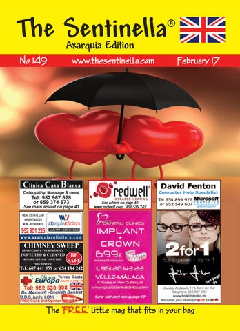 The Sentinella Axarquia Edition February 2017 By The Sentinella