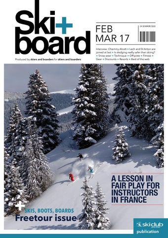 ski board february march 2016 by ski club of great britain issuu