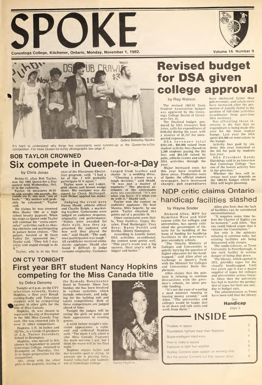 Digital Edition - November 1, 1982 by SPOKENewspaper - issuu