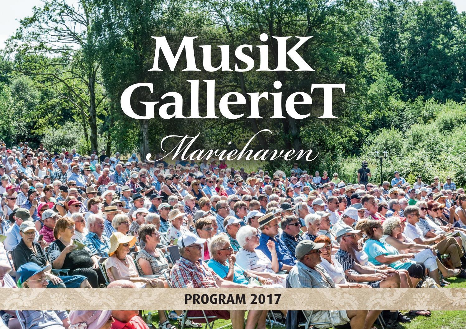 Musik Galleriet Mariehaven Program 2017 By Videbaek Bogtrykkeri