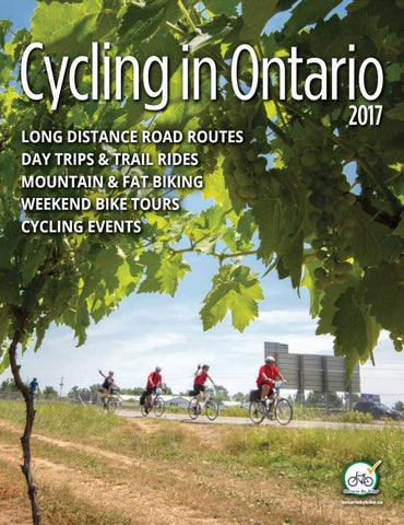25795f5b8 2017 Cycling in Ontario Guide by Ontario By Bike   Transportation ...