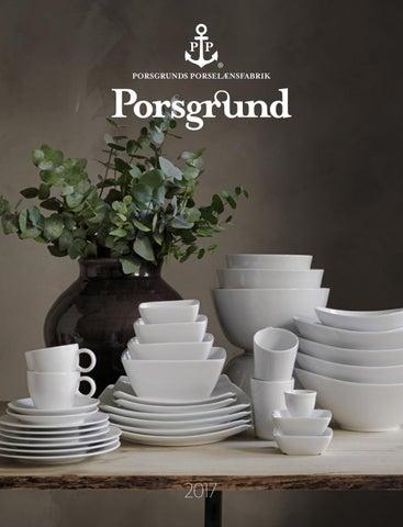 b14d7628 Produktkatalog Porsgrund Porselænsfabrik as 2017 by Porsgrunds ...