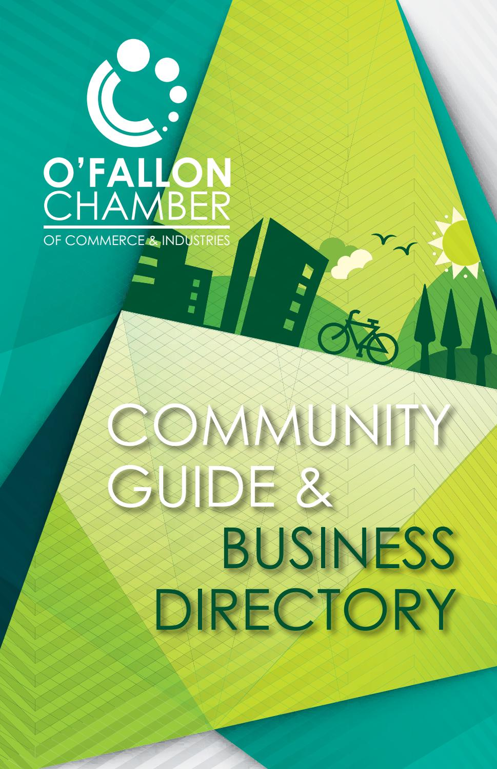 2017 o'fallon chamber community guide & business directory by o