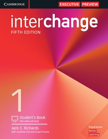 Interchange fifth edition executive preview by cambridge page 1 fandeluxe Image collections