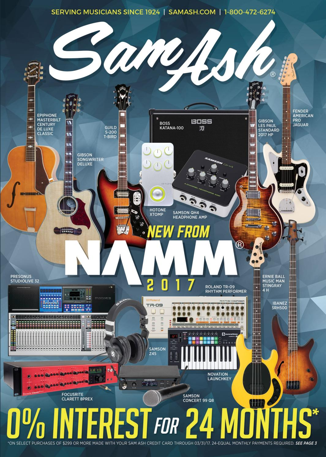 [DIAGRAM_1JK]  Winter 2017Sam Ash GearGuide by Sam Ash Music Corp. - issuu | Fatswitch Wiring Diagrams For Electric Guitars |  | Issuu