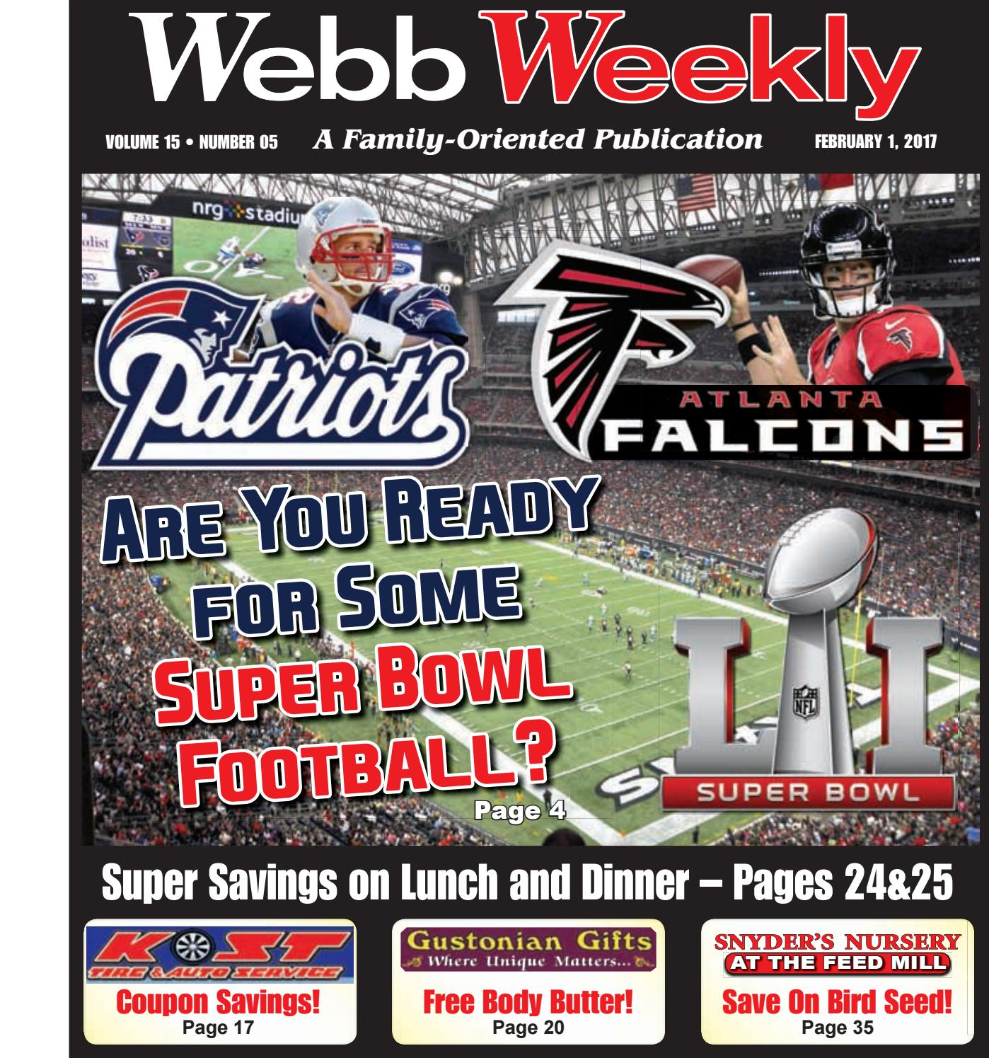 Webb Weekly February 1, 2017 by Webb Weekly - issuu