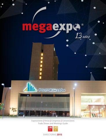 854c828e00 Directorio Megaexpo 2015 by Latinamerica Meetings - issuu