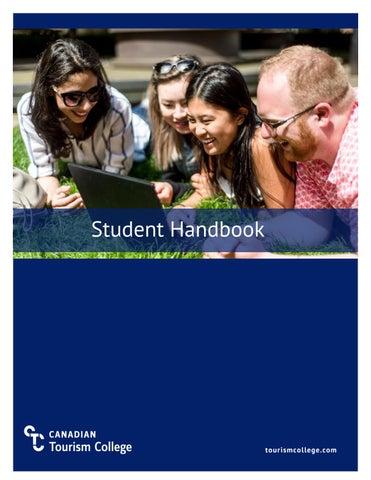 Cover Of Student Handbook