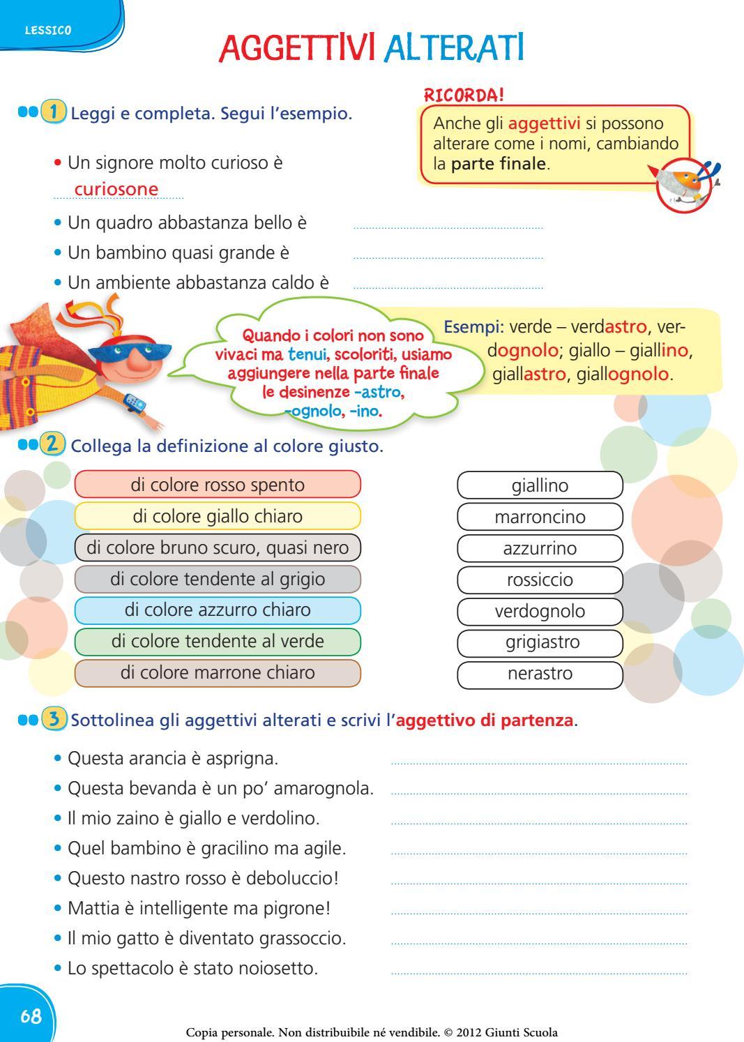 Colorati D Azzurro Chiaro il mio super quaderno italiano 3   vebuka
