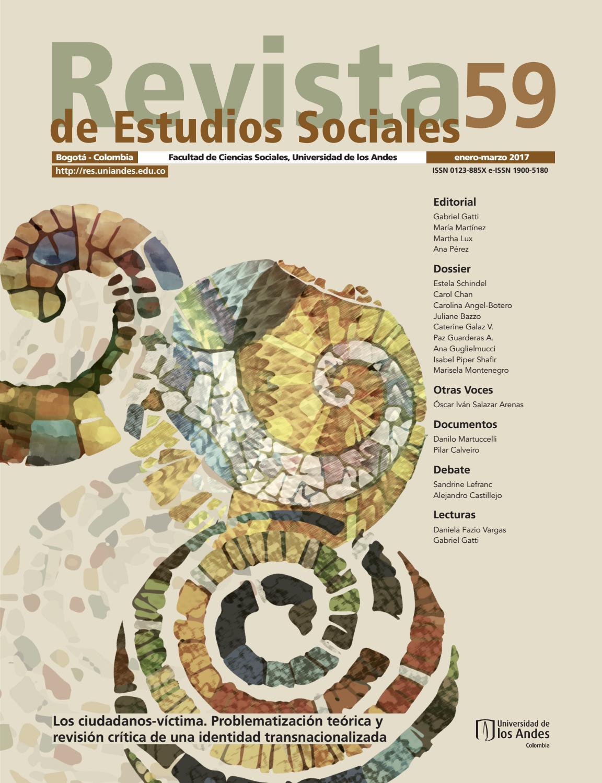 Revista De Estudios Sociales No 59 By Publicaciones Faciso