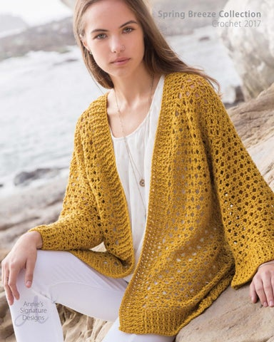 5fbba10320a2 Annie s Spring Breeze Crochet Pattern Collection 2017 by Annie s - issuu