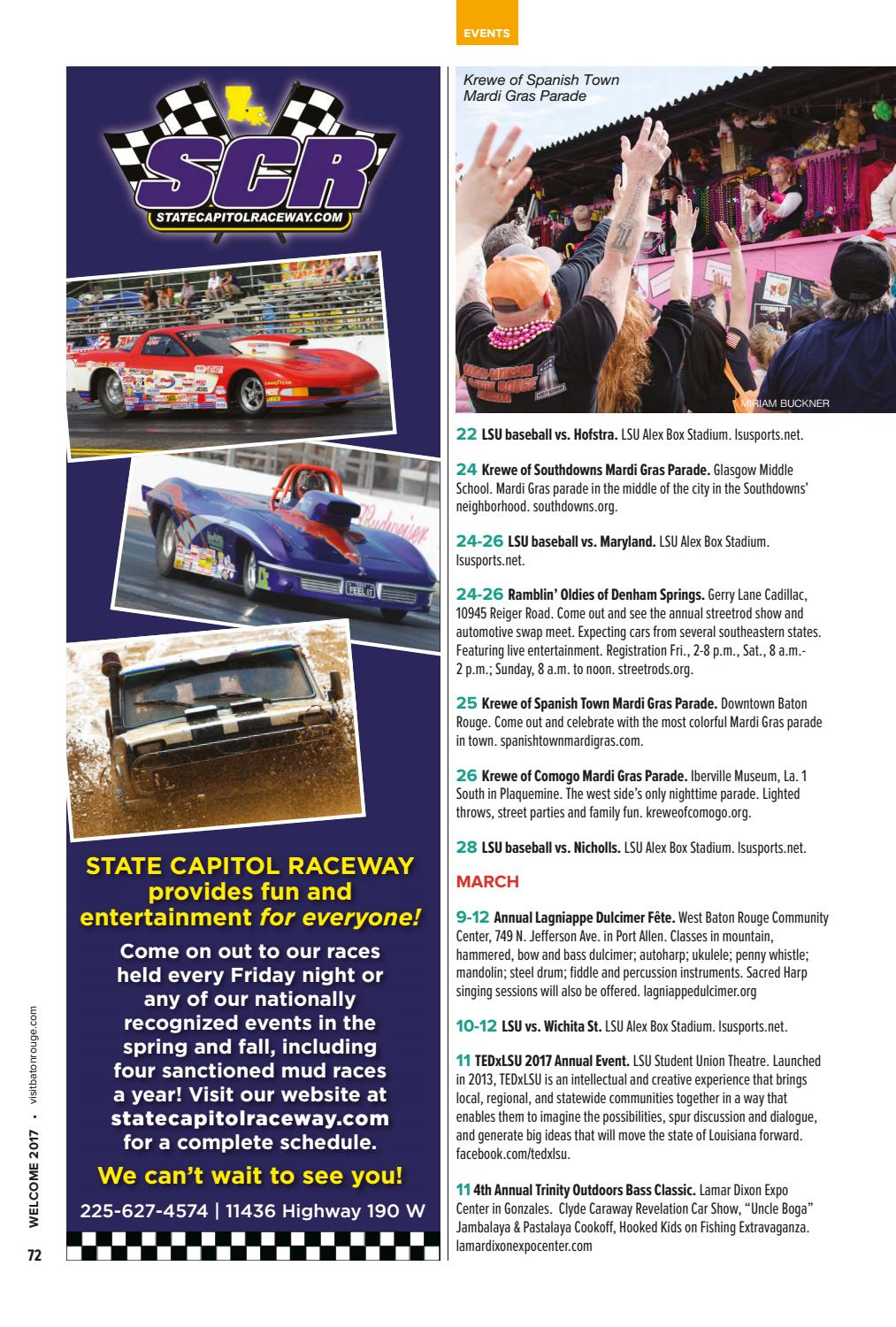 Welcome The Official Visitors Guide To Greater Baton Rouge By - Fun car show ideas
