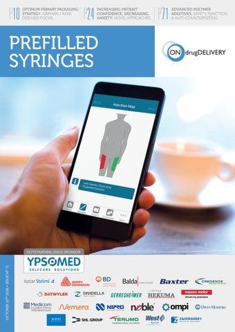 Prefilled Syringes - ONdrugDelivery - Issue 71 - October 2016 by