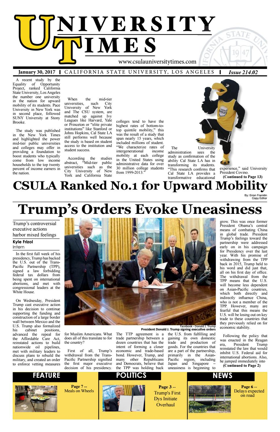 Spring Week 2 Issue 214.02 by CSULA University Times - issuu