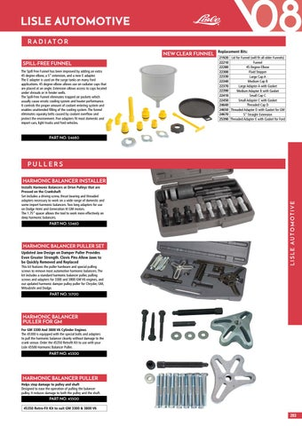 Retrofit Kit for 45500 Lisle 45350