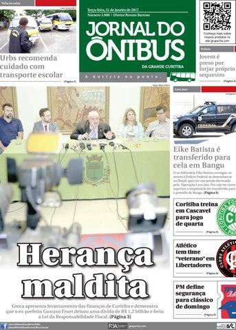 8dc362727a Editora Jornal do Ônibus - Edição do dia 31-01-2017 by Editora ...
