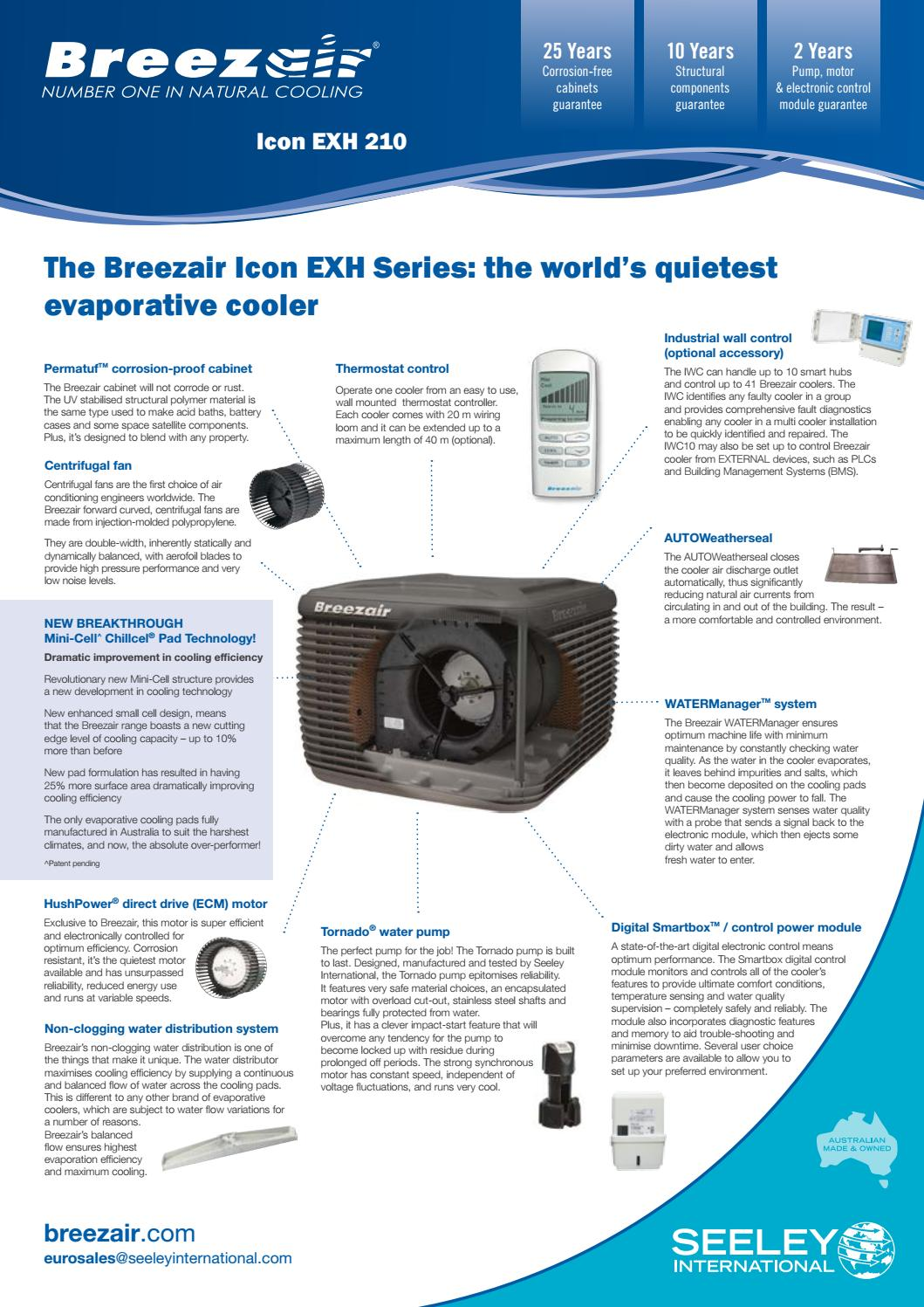 Breezair Europe Icon Exh 210 By Seeley International