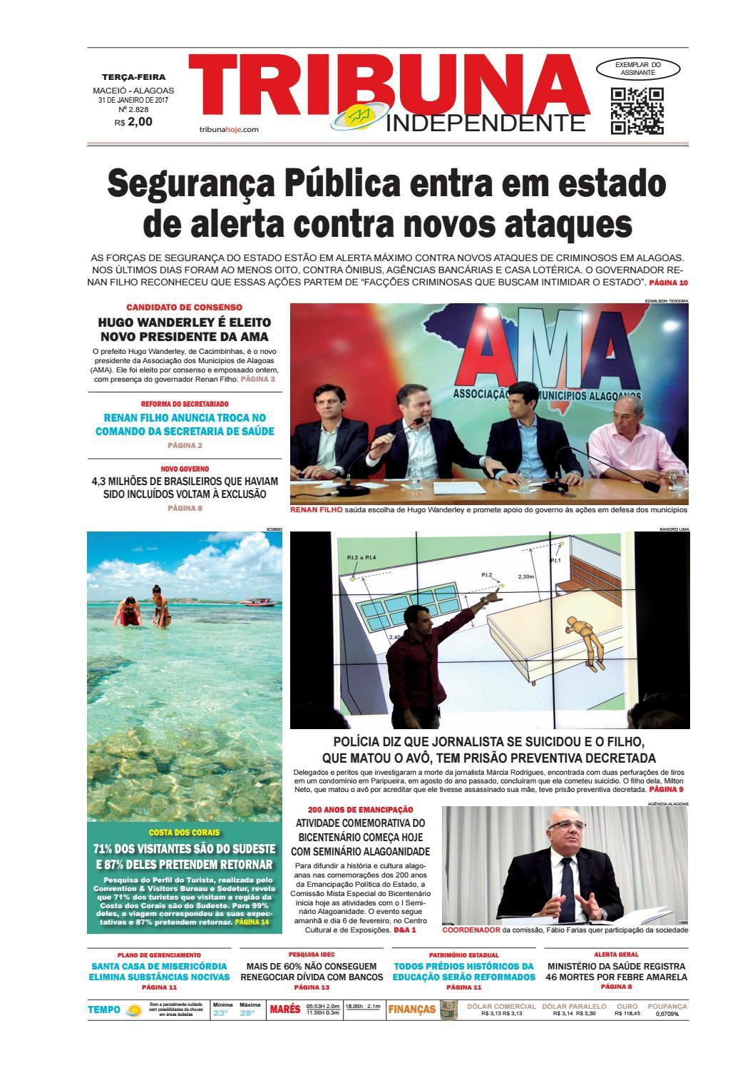 c23fc3f1ba3aa Edição número 2828 - 31 de janeiro de 2017 by Tribuna Hoje - issuu