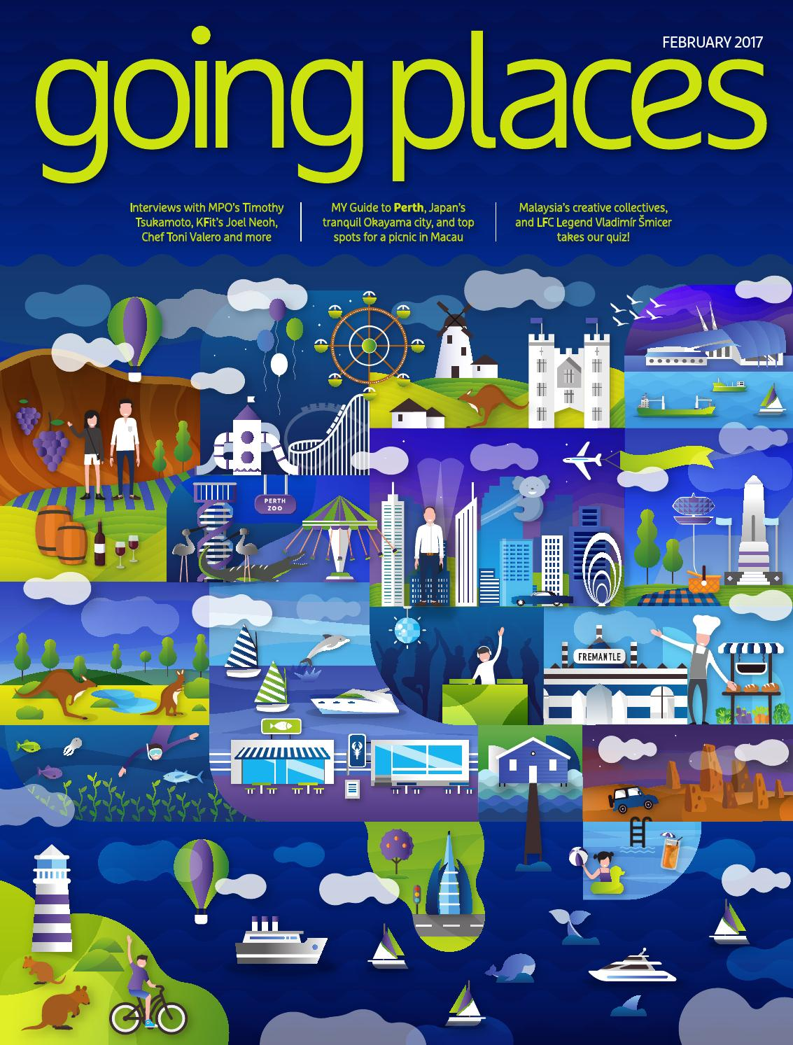 Going Places February 2017 By Spafax Malaysia Issuu