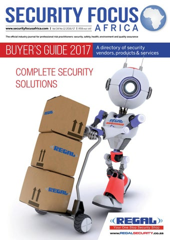 Security Focus Buyers Guide 2017 By Contact Publications Issuu