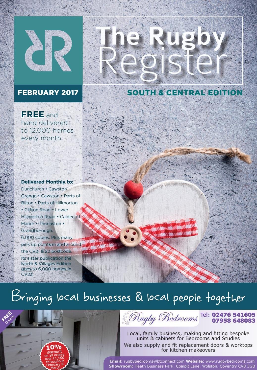 The Rugby Register South & Central Edition - Feb 2017 by RUGBY ...
