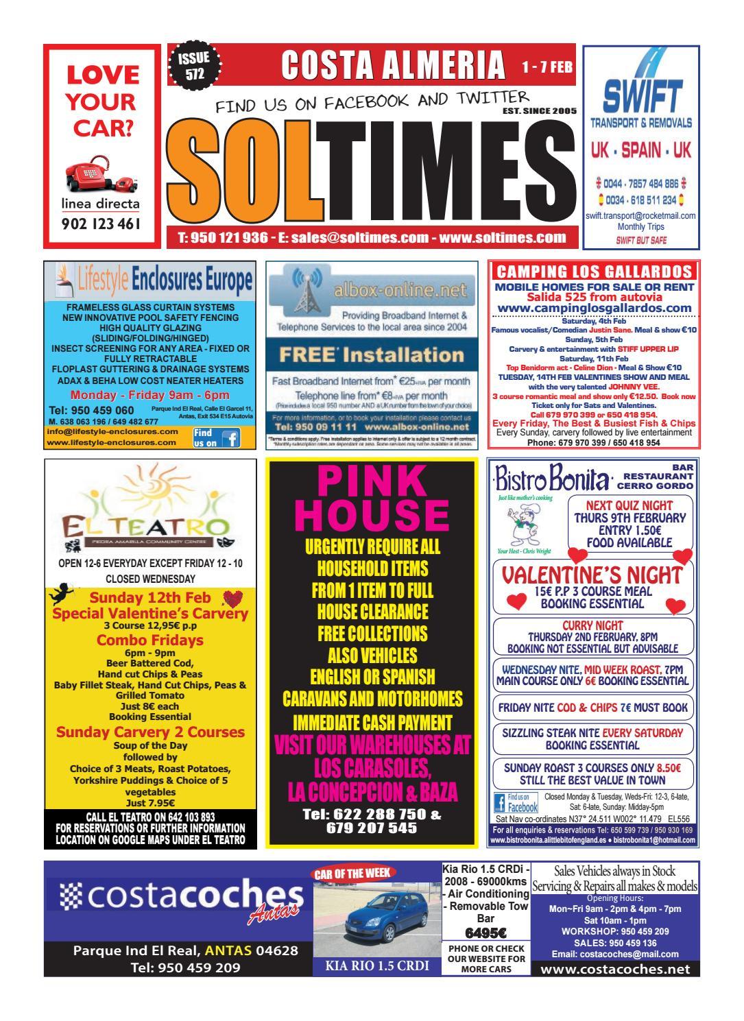 00ae41c41ddf14 Almeria 572 by Sol Times - issuu