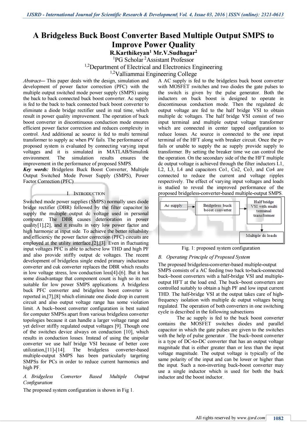 power factor correction using boost converter pdf