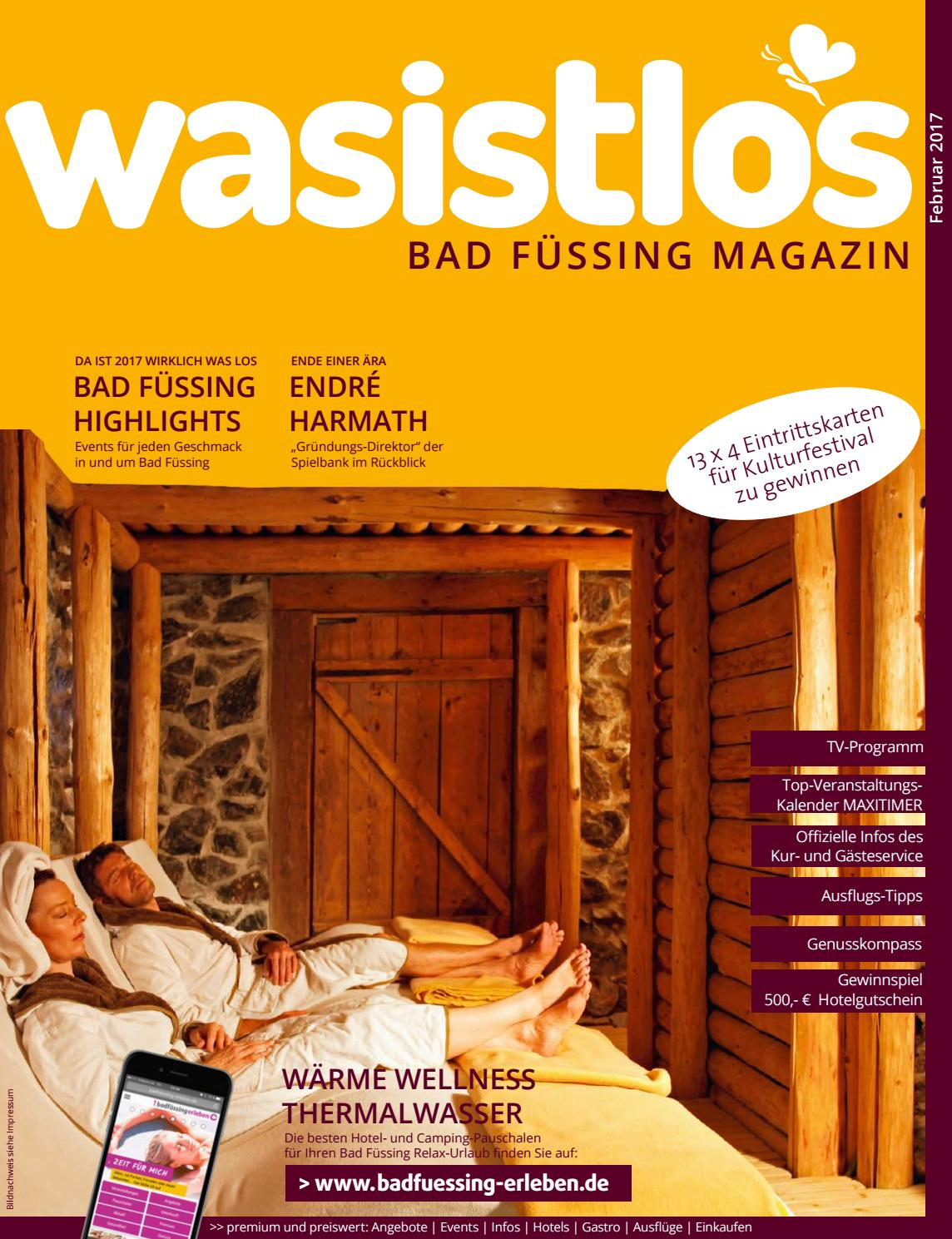 Wasistlos Bad Fuessing Magazin Februar 2017 by remark marketing + ...