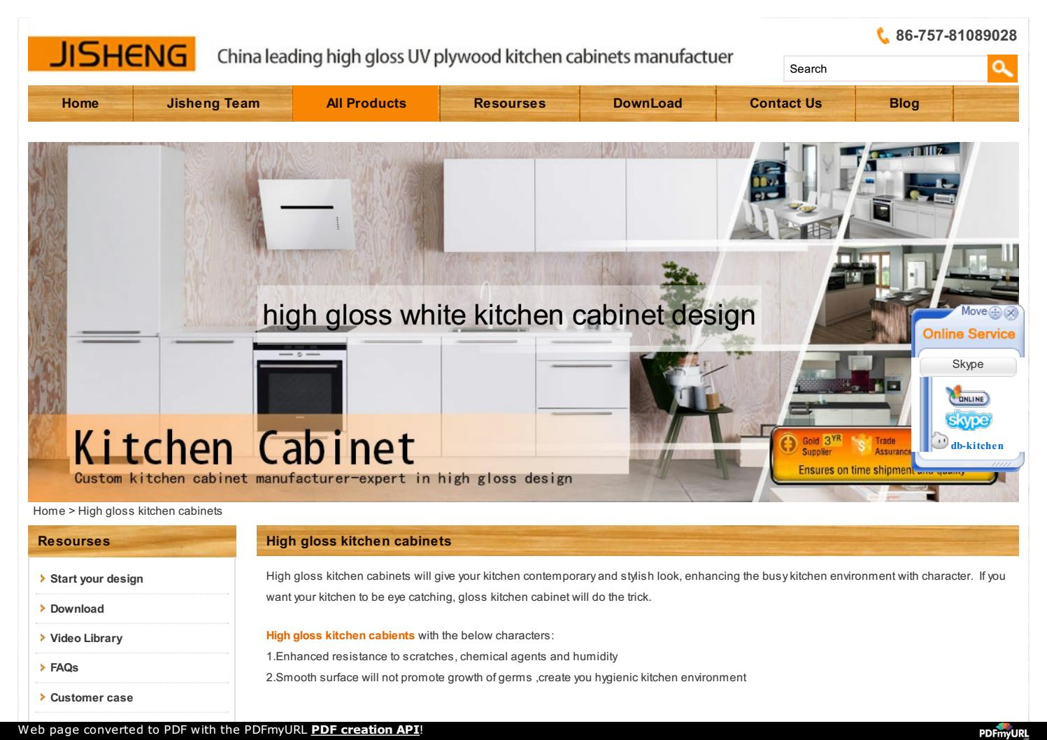 High Gloss Kitchen Cabinets Manufacturer Expert In High Gloss Design By Dabankitchen Issuu