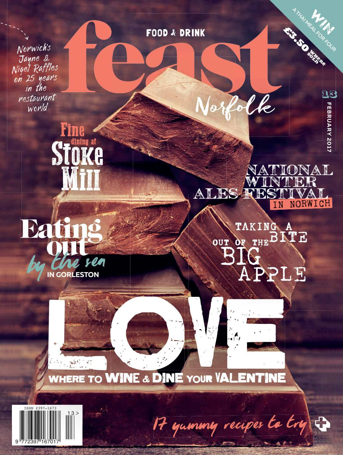 Feast Norfolk Magazine February 17 Issue 13 By Cool Cold Ice2 Cooling Pad 156 Inch Issuu