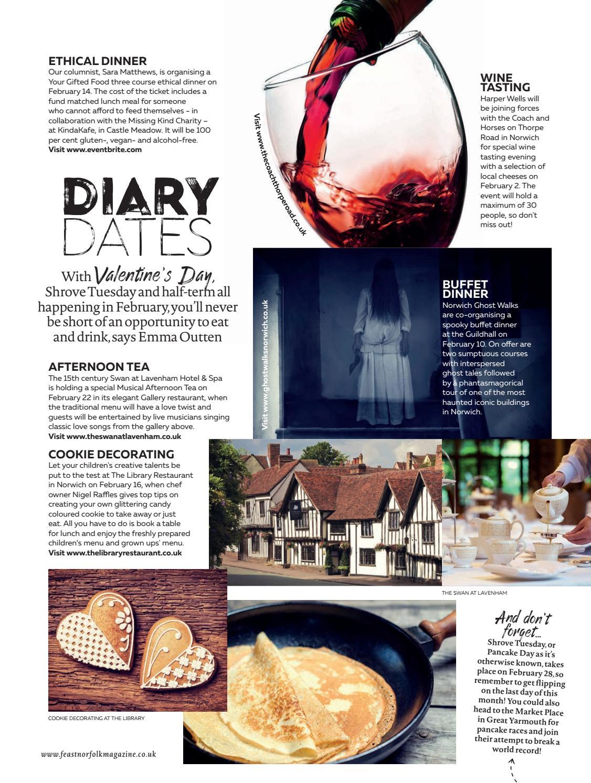 Feast Norfolk Magazine February 17 Issue 13 By Feast Norfolk