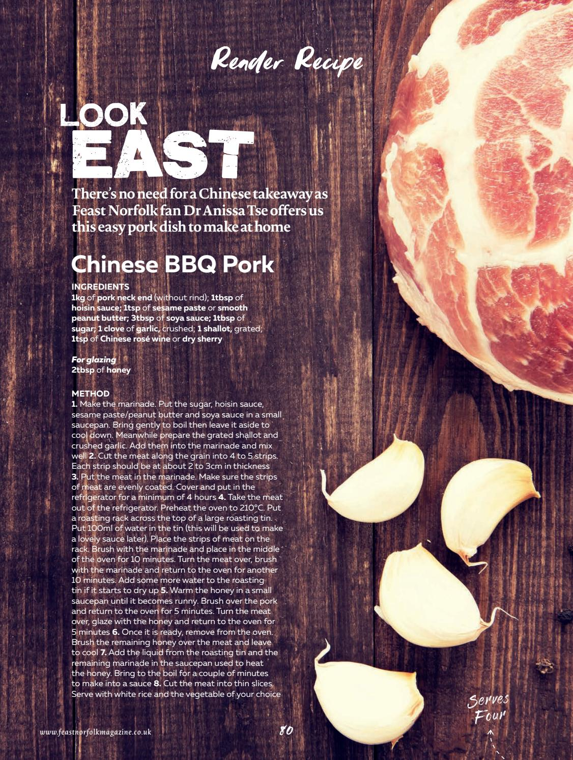 Feast Norfolk Magazine February 17 Issue 13