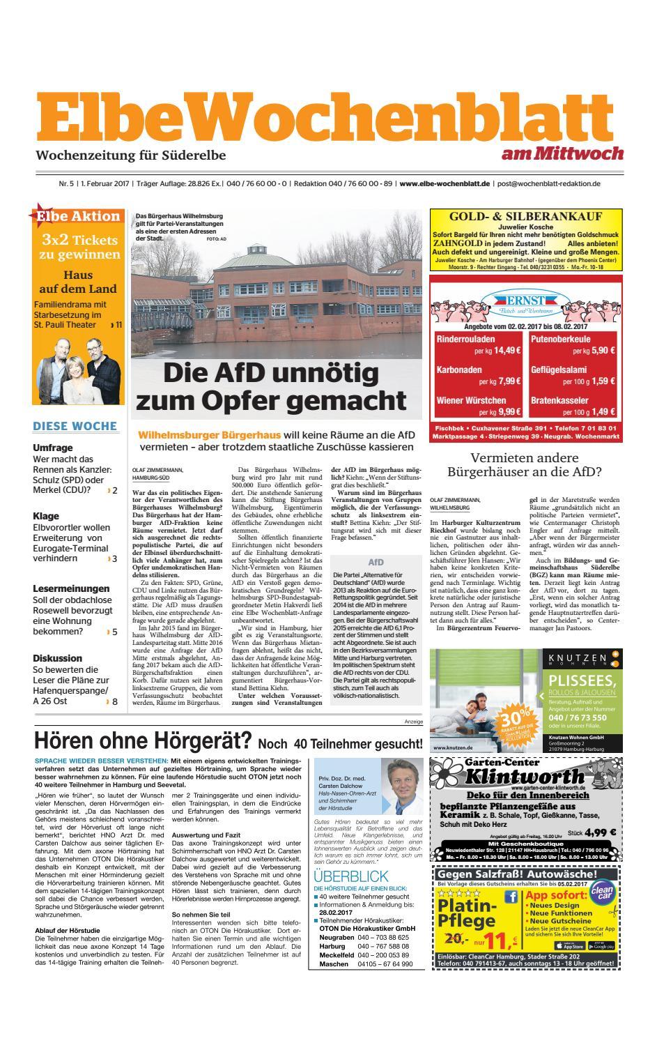 Suderelbe Kw05 2017 By Elbe Wochenblatt Verlagsgesellschaft Mbh Co